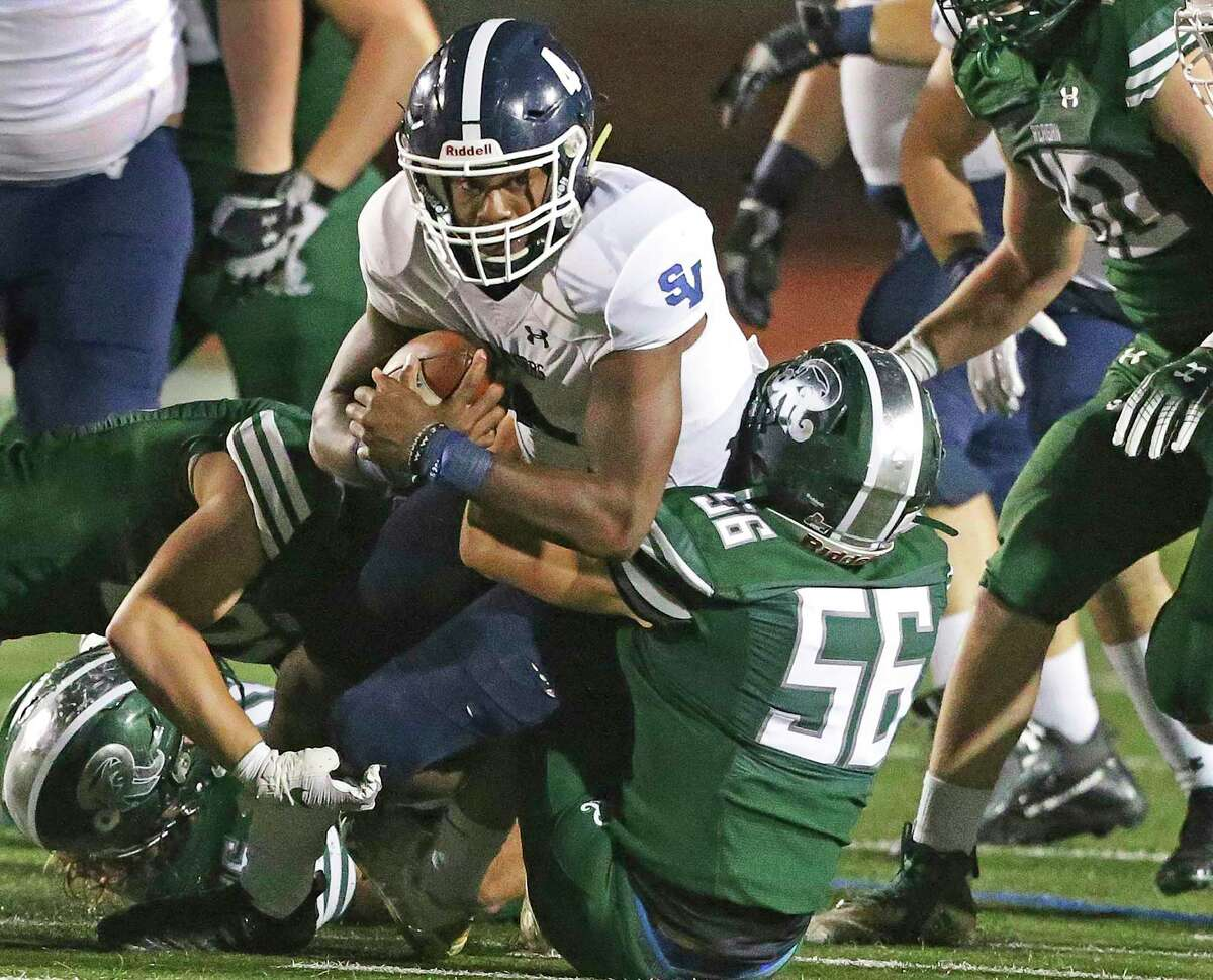 Smithson Valley and quarterback Jalen Nutt beat Reagan in the first round of the playoffs last week.
