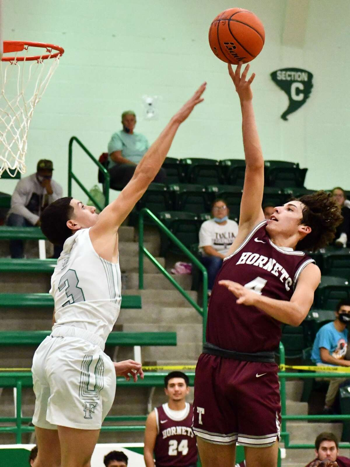 Tulia snagged a non-district road wins against Floydada on Dec. 11, 2020. The Lady Hornets defeated the Lady Winds 47-23 and the Tulia boys held off Floydada 69-64.