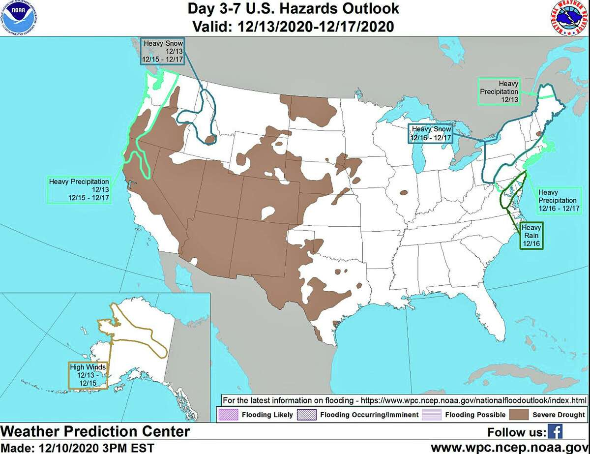 The nor'aster late Wednesday into Thursday could bring