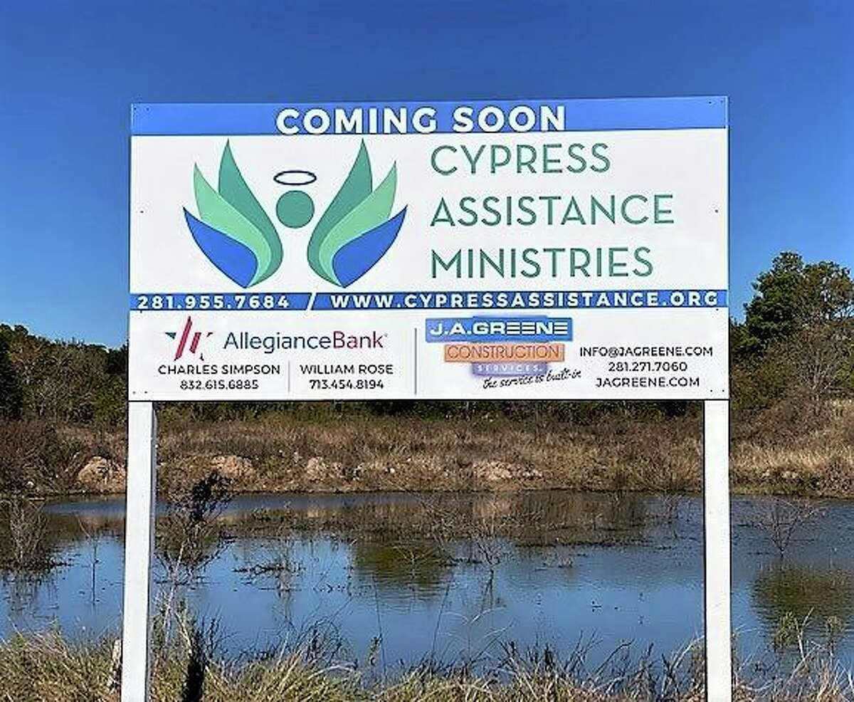 The Cypress Assistance Ministries has purchased land at 12930 Cypress N. Houston Road to build a 21,00 square foot facility to serve the community. To pledge financial assistance to the ministry, visit their website at cypressassistance.org.