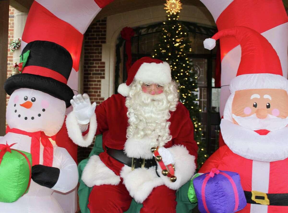 Pre-Christmas visits with