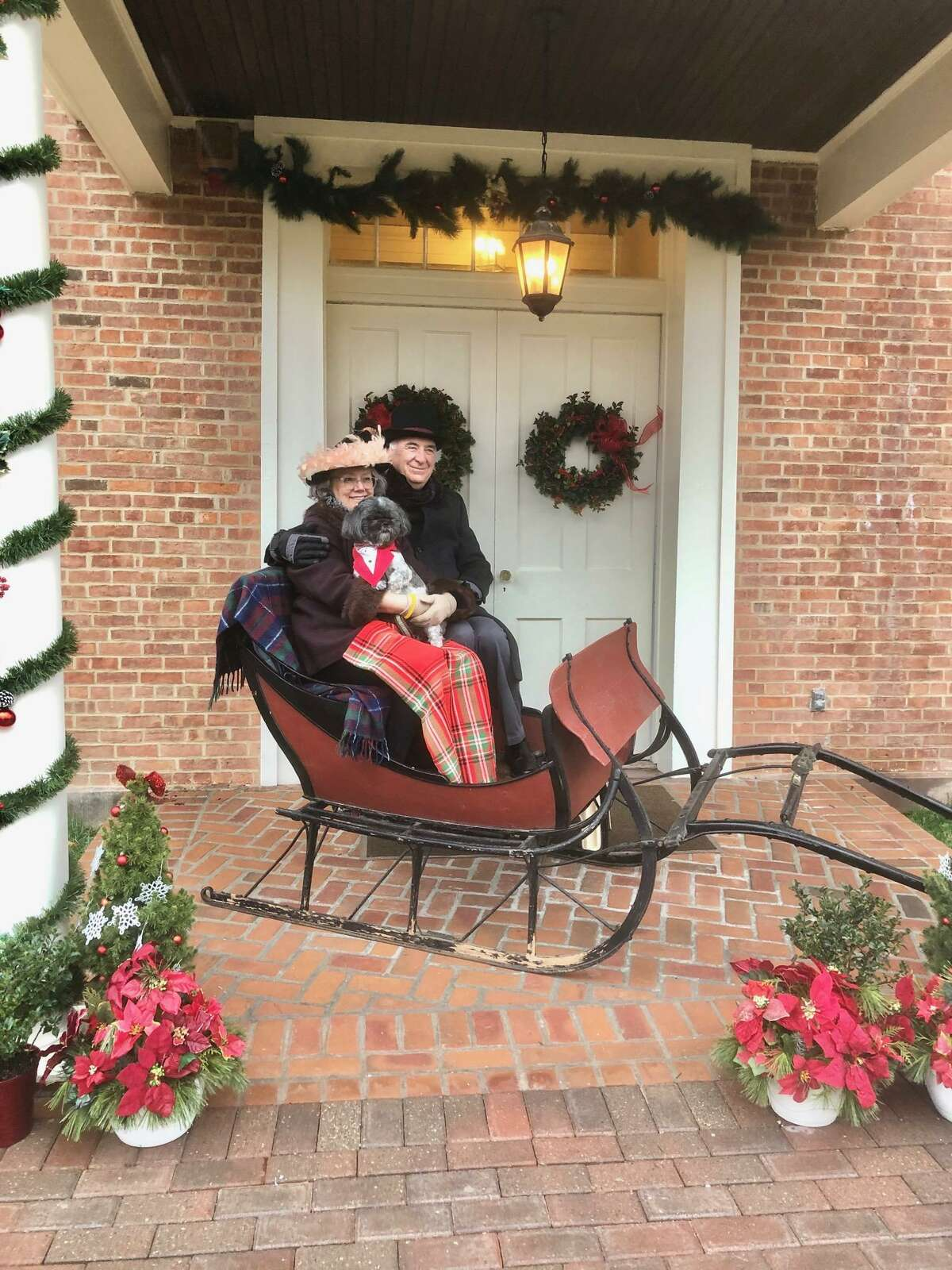Last week, The Pruyn House had a holiday photo opportunity for local families. (Tami Sherry)
