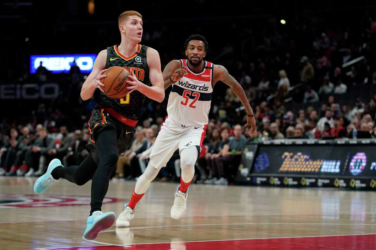 """Kevin Huerter of the Atlanta Hawks is playing host to """"518 Hoopfest"""" on Saturday in Clifton Park."""