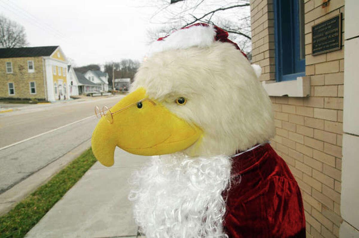 Even shop mascots got into the act for Grafton's second annual SantaCon Saturday.