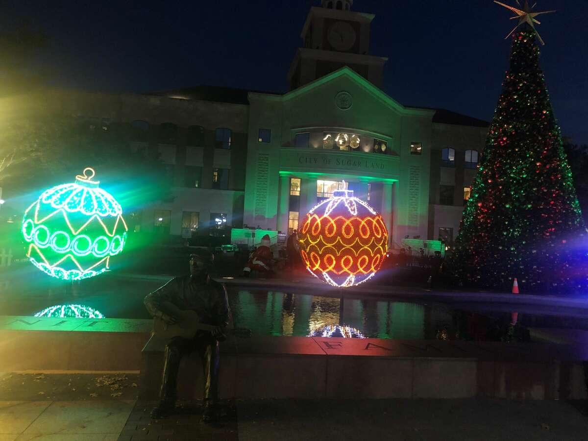 Santa's Magi-sphere.
