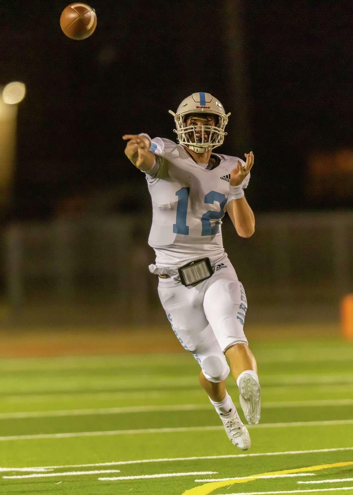 Cypress Christian School shutout Holy Cross of San Antonio 14-0 in the TAPPS Division III state semifinals Friday, Dec. 11, at Victoria Memorial Stadium in Victoria.