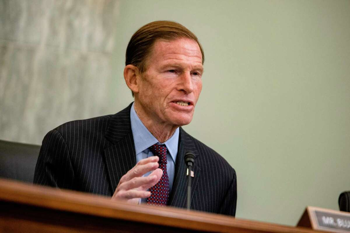 Sen. Richard Blumenthal, D-Connecticut, criticized consulting firm McKinsey & Co., for its past work with OxyContin maker Purdue Pharma.