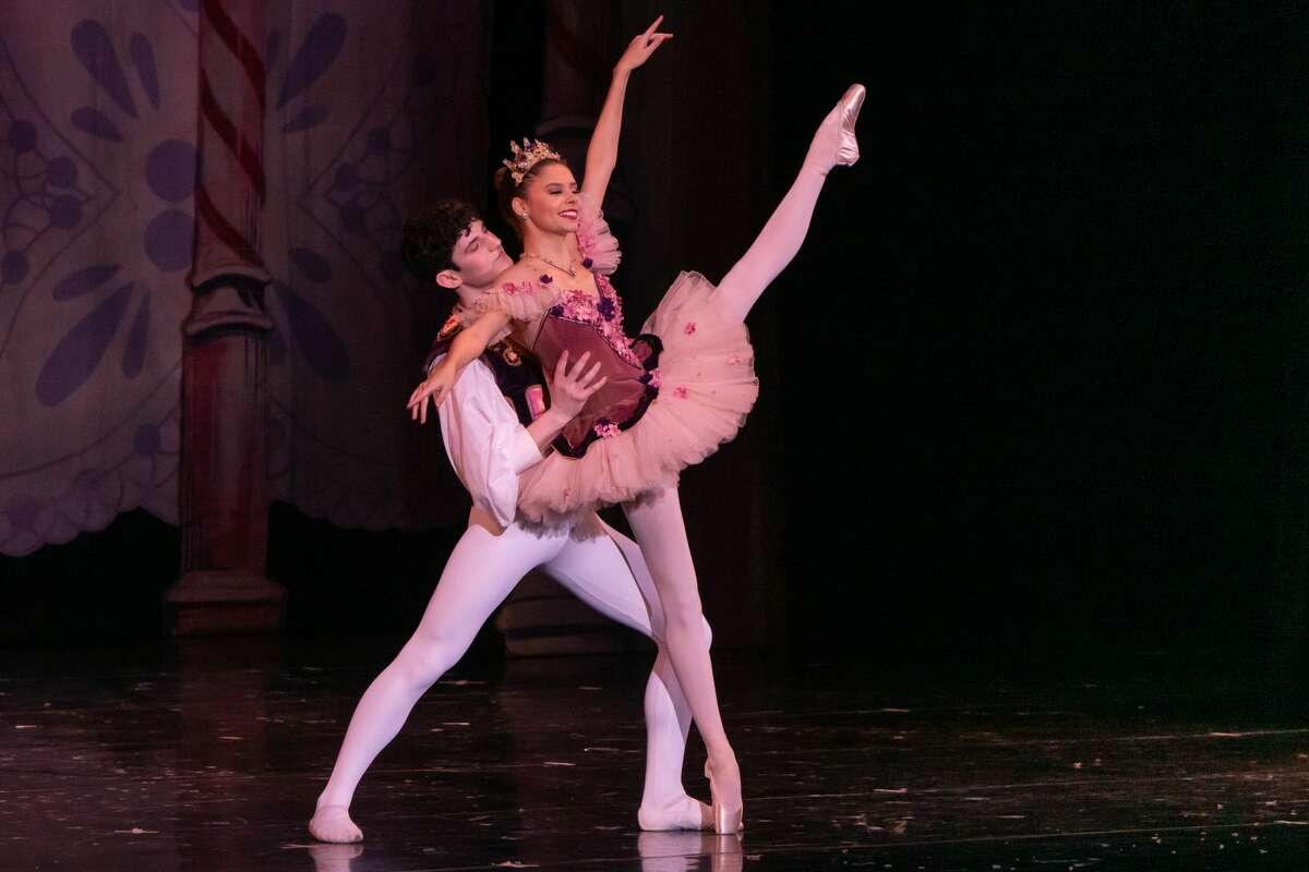The Beaumont Civic Ballet presented the first of three performances of The Nutcracker at the Julie Rogers Theatre Saturday afternoon. Photo made on December 12, 2020. Fran Ruchalski/The Enterprise