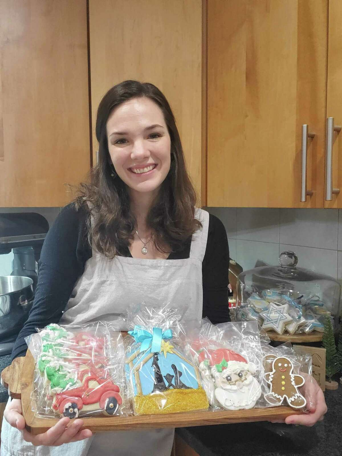 Emily DeCruze of Trumbull is hoping a holiday cookie order signals a long-term relationship between online retailer Amazon.com and local small businesses.