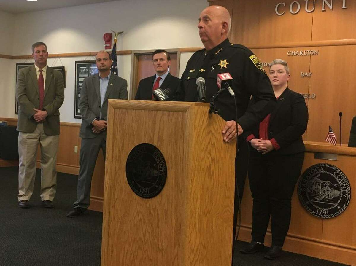 At a March 17 press conference at the county office building in Ballston Spa, Saratoga County Sheriff Michael Zurlo said his deputies are helping the most vulnerable during the coronavirus outbreak.