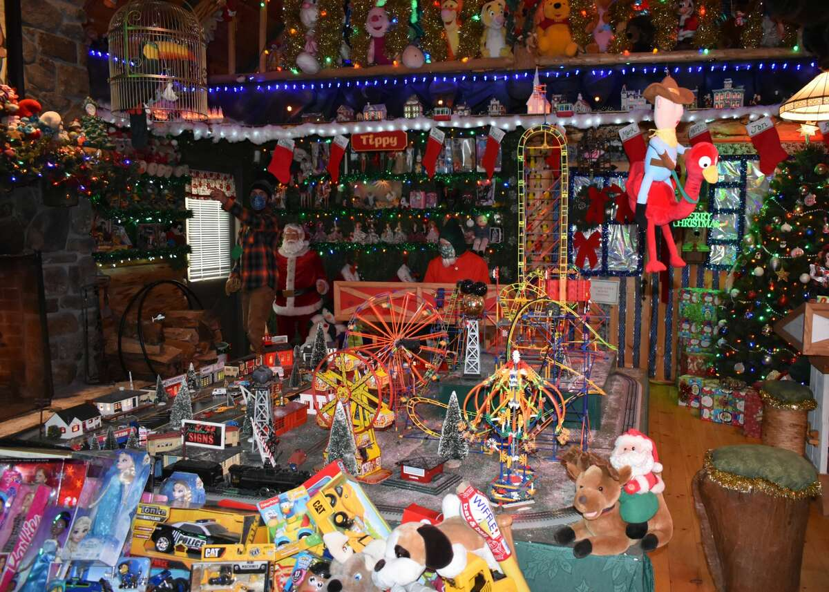 In Pictures: The 73rd Annual Carl Bozenski's Christmas Village had its start to the holiday season on Sunday, December 13th. Lots of volunteers, effort and care went into creating a safe-for-all event due to Covid 19  guidelines.