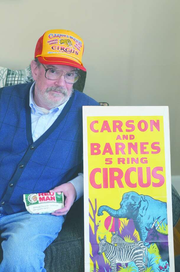 Jay Jamison as he portrayed Carson and Barnes Circus owner D.R. Miller for the Jacksonville Chautauqua series. Photo: David Blanchette | Journal-Courier