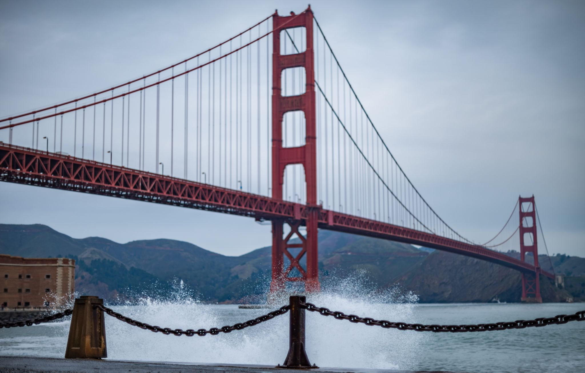 The story of the hidden handprints under the Golden Gate Bridge