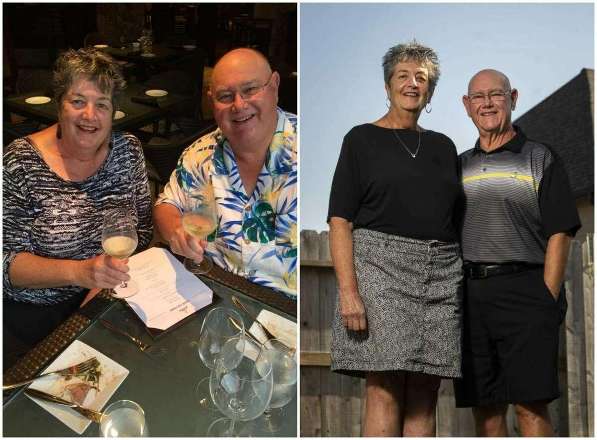 Kevin and Linda Dellsperger have lost 150 pounds together.