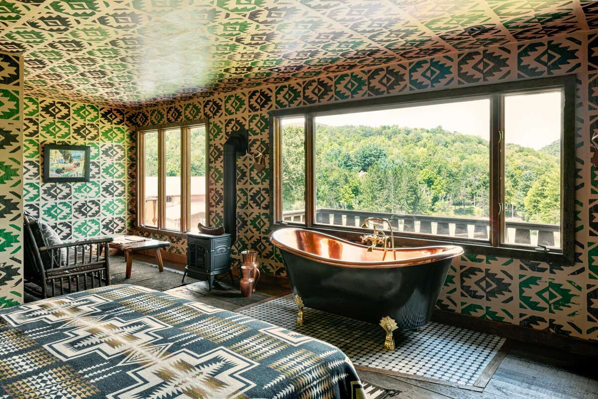 Lyon Porter, co-owner of Urban Cowboy Lodge in the Catskills, urges making the mental shift from a shower or bath being a thing of utility to being more of an experience.
