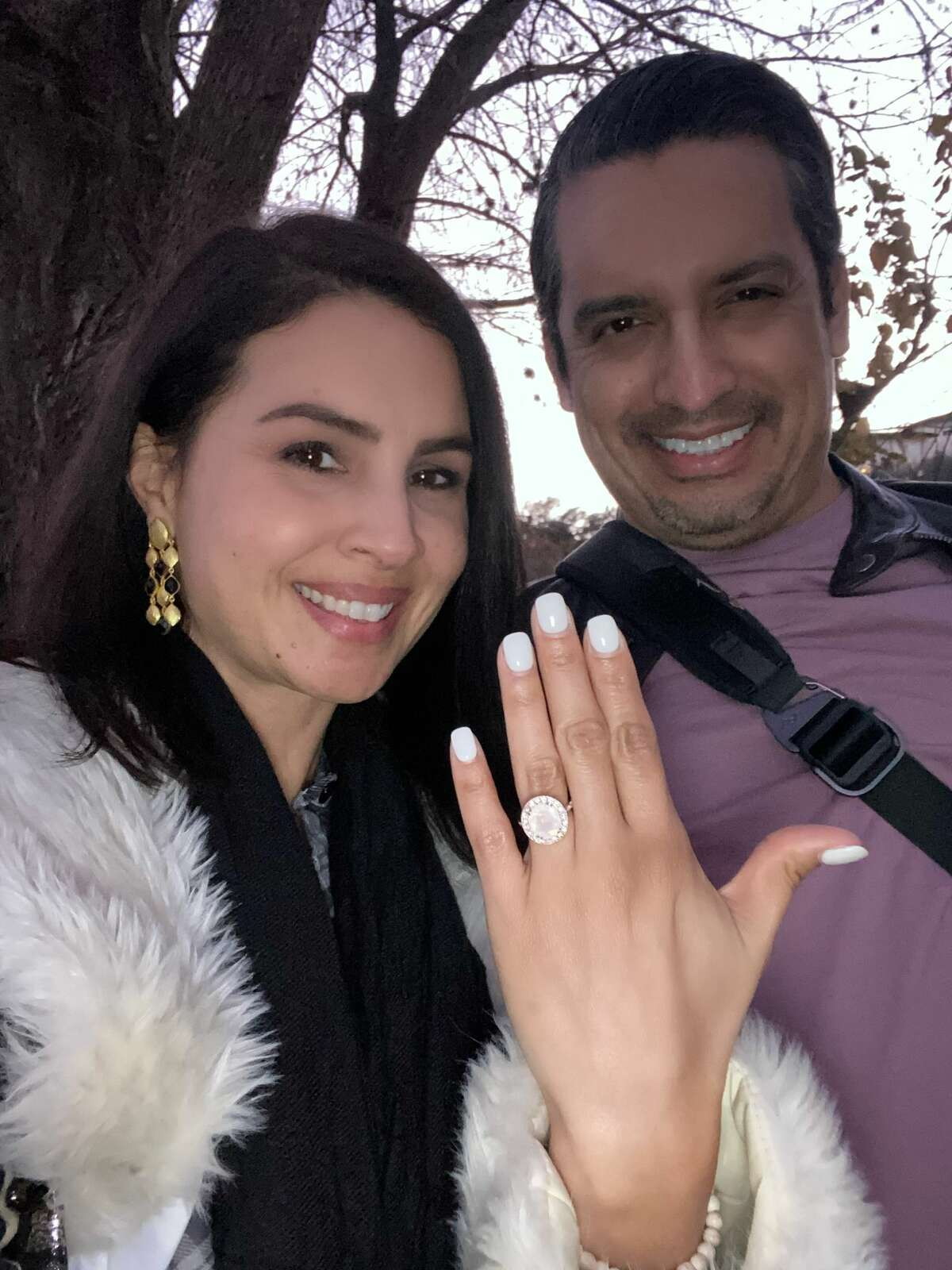 """World Car Girl"" Bequi Sierra is engaged to San Antonio attorney Philip Perez."