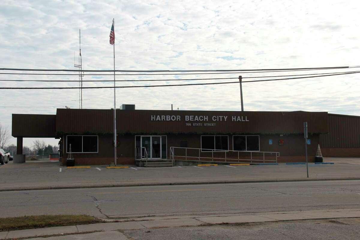 Harbor Beach City Hall (Tribune File Photo)