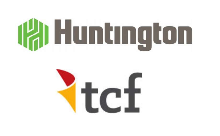 Huntington Bancshares Incorporated, the parent company of The Huntington National Bank, and TCF Financial Corporation, the parent company of TCF National Bank,  announced the signing of a definitive agreement under which the companies will combine in an all‐stock merger with a total market value of approximately $22 billion to create a top 10 U.S. regional bank with dual headquarters in Detroit, Michigan and Columbus, Ohio. (Logos provided) Photo: Photo Provided
