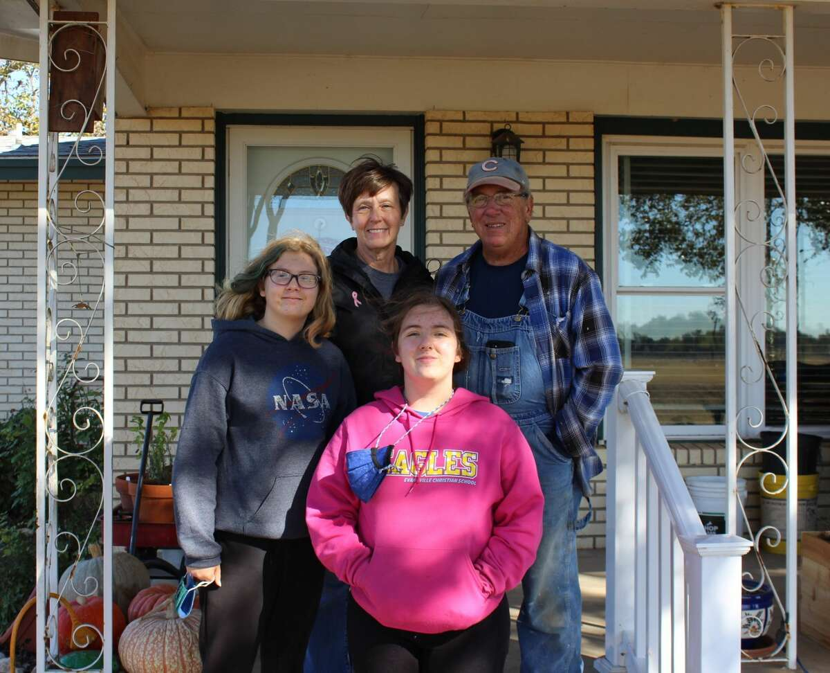 Paul and Gayle Rundus live on their 39- acre farm in Schertz with their daughter, son-in-law and granddaughters.