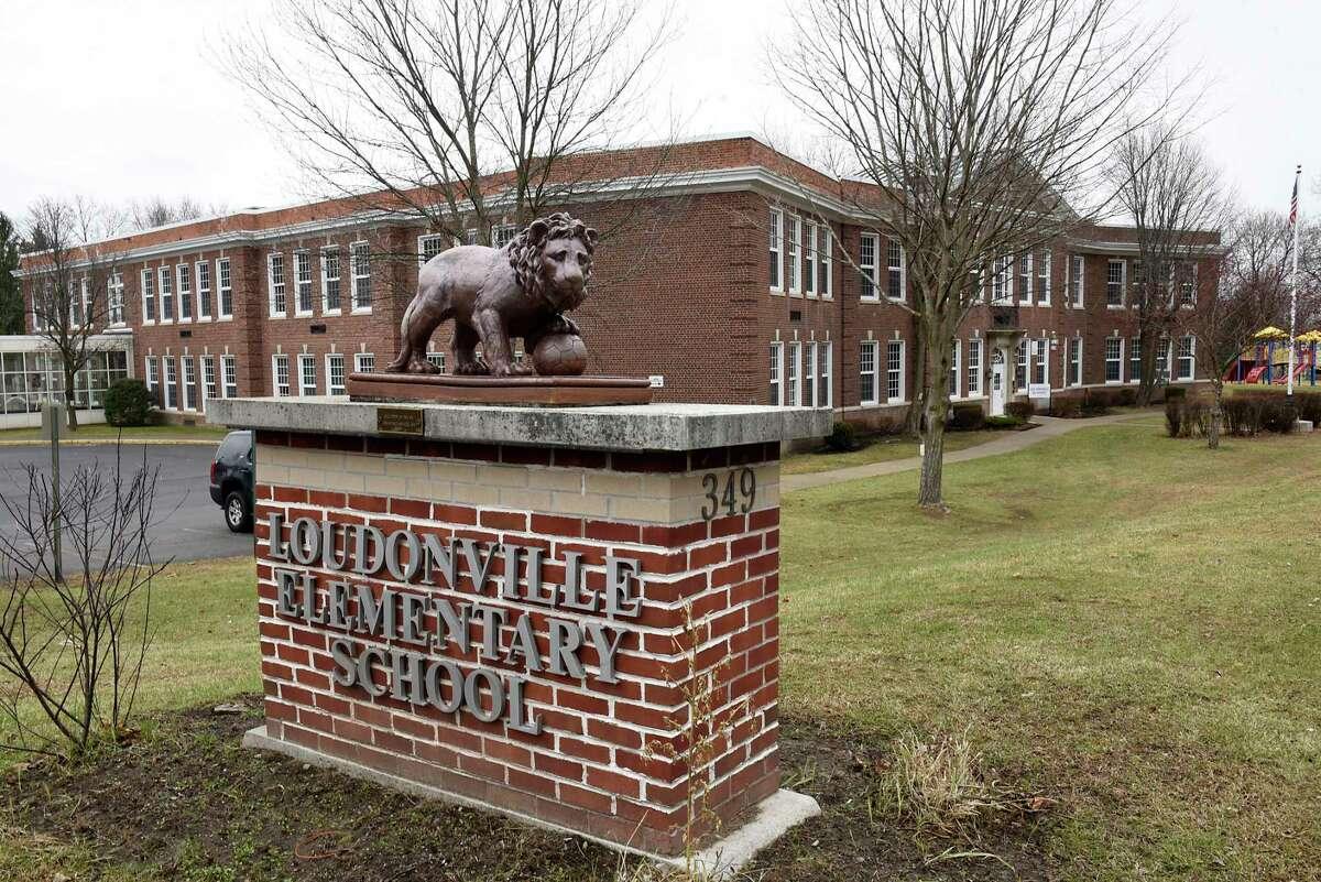 Exterior of Loudonville Elementary school on Monday, Dec. 14, 2020 in Colonie, N.Y. (Lori Van Buren/Times Union)
