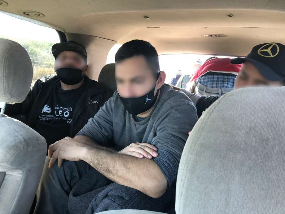 Working together, U.S. Border Patrol agents from the Hebbronville Station and Jim Hogg County Sheriff's Office (JHCSO) deputies stopped a human smuggling attempt north of Hebbronville, Texas. Photo: Courtesy