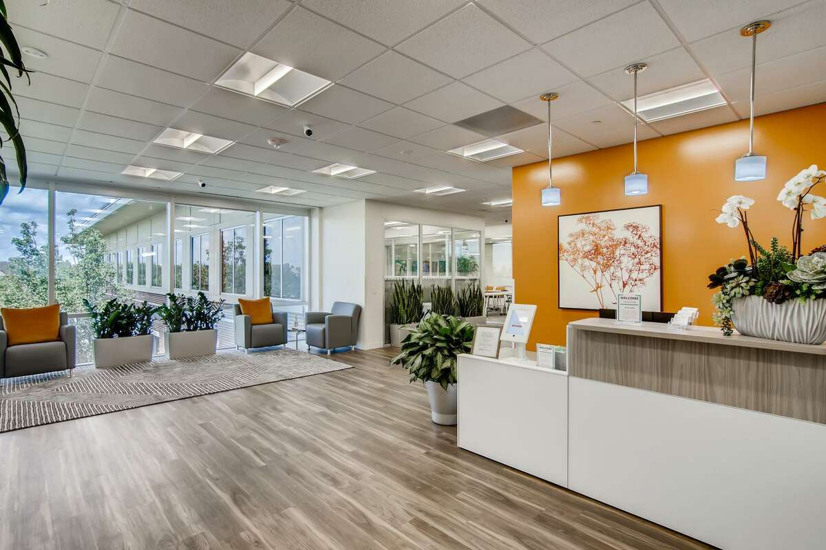 Coworking franchiser Office Evolution is opening a location in San Antonio. Shown is a site in Houston. The San Antonio site will offer 35 private offices along with conference rooms and a drop-in area with room for about 10 people.