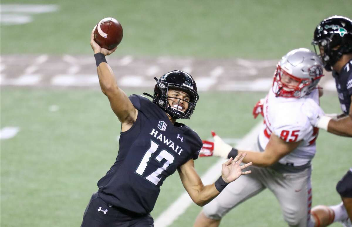 After two years of waiting for his opportunity, Chevan Cordeiro is in his first season as Hawaii's starting quarterback.