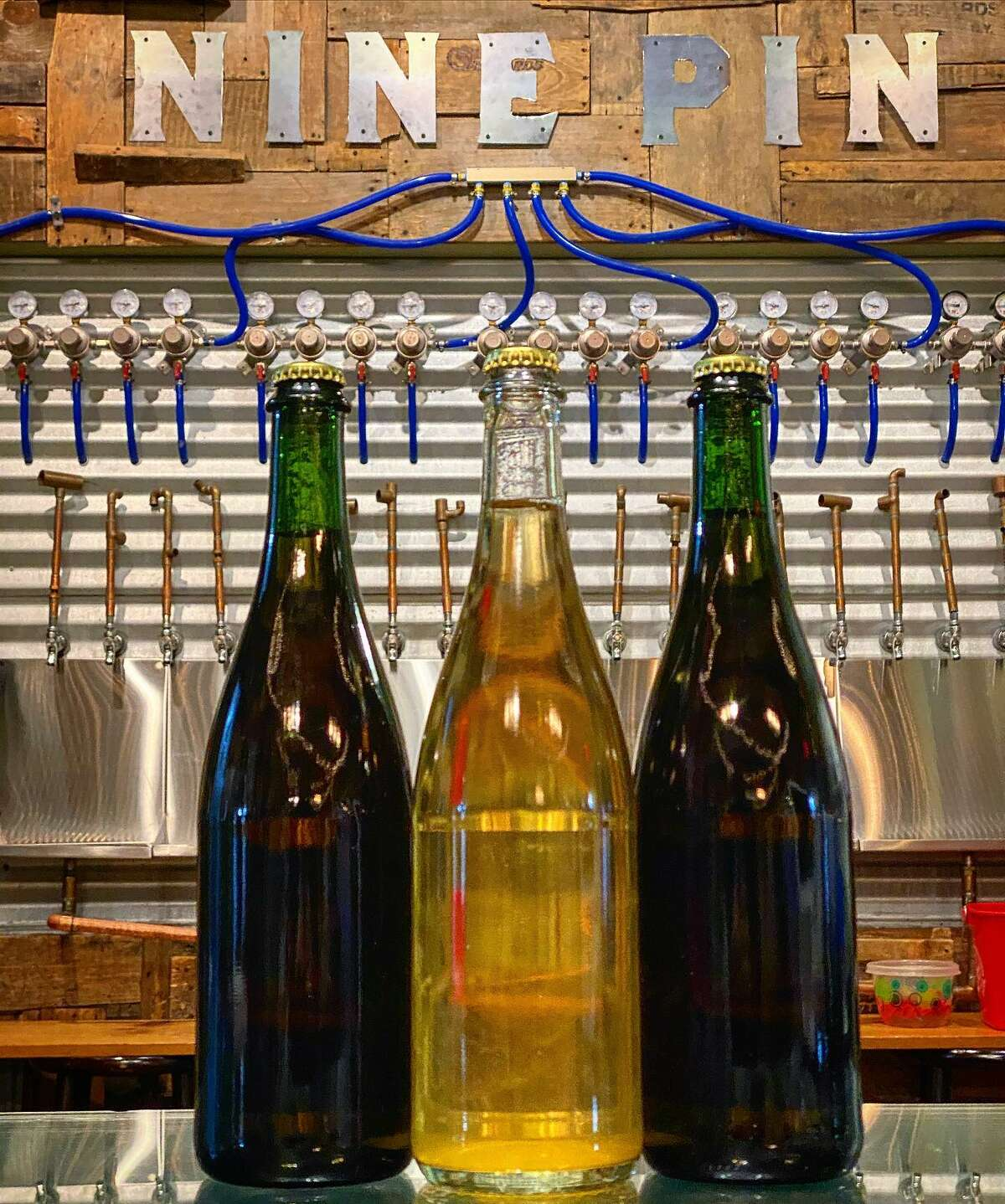 Albany's Nine Pin Cider Works offers a new Cidermaker's Cellar Membership for quarterly shipments of special bottled hard cider.
