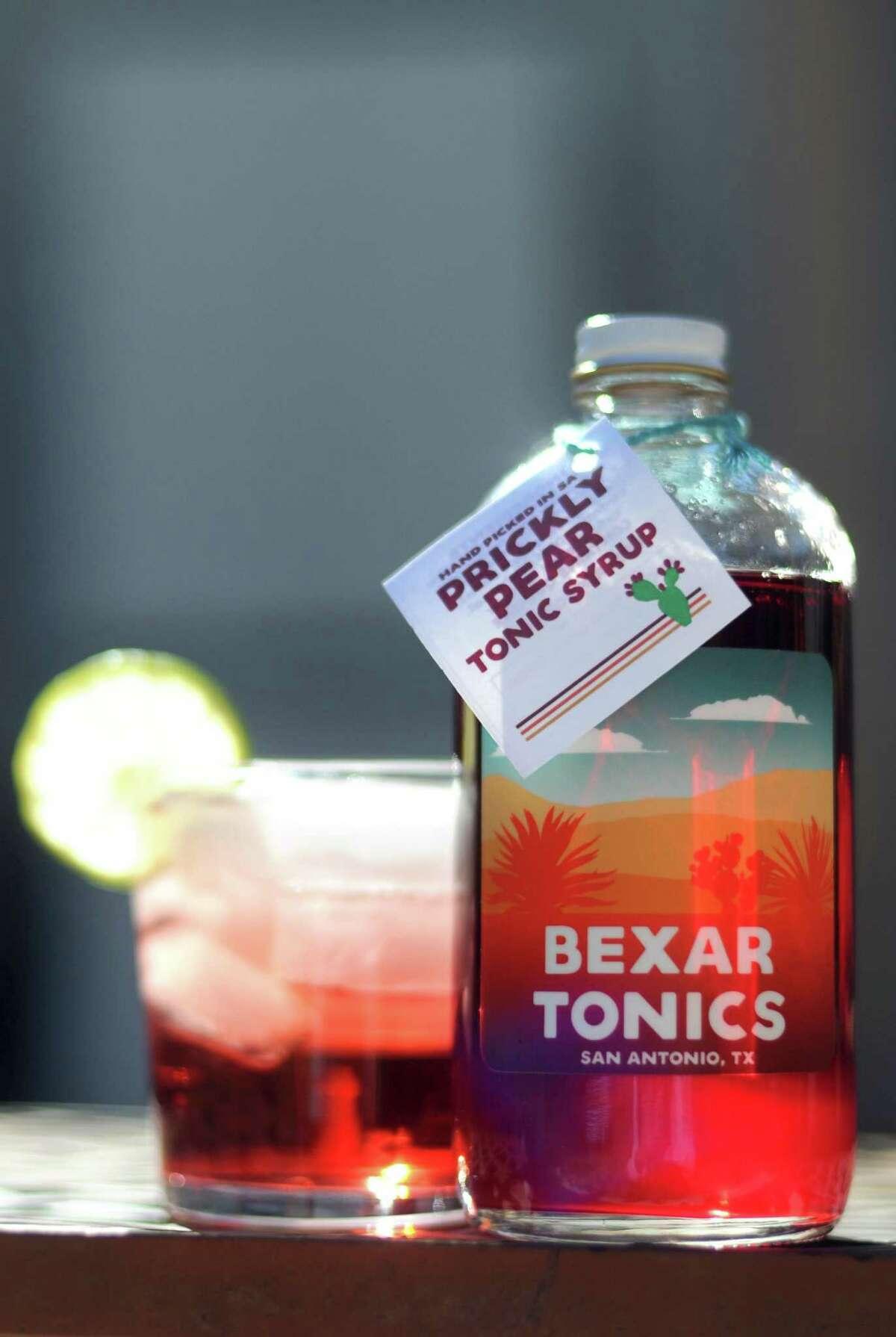 San Antonio-made Bexar Tonics' line of tonic syrups can give your next cocktail a distinctive San Antonio flair.