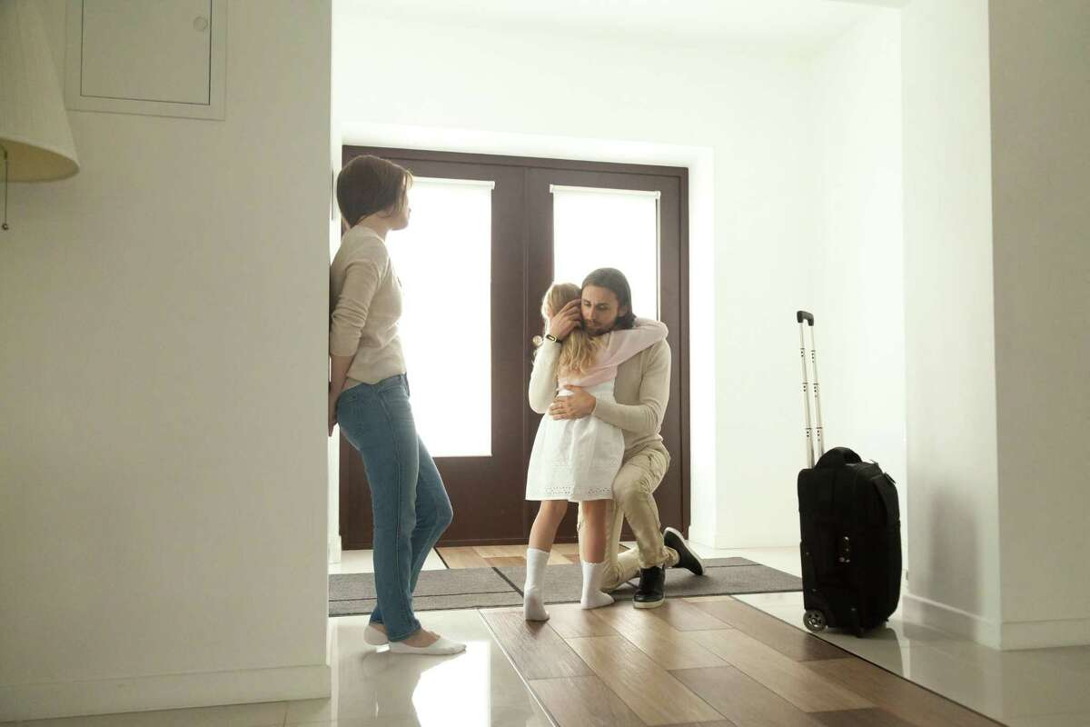 Families are dealing with difficult decisions this year, whether they are divorced or separated or intact.