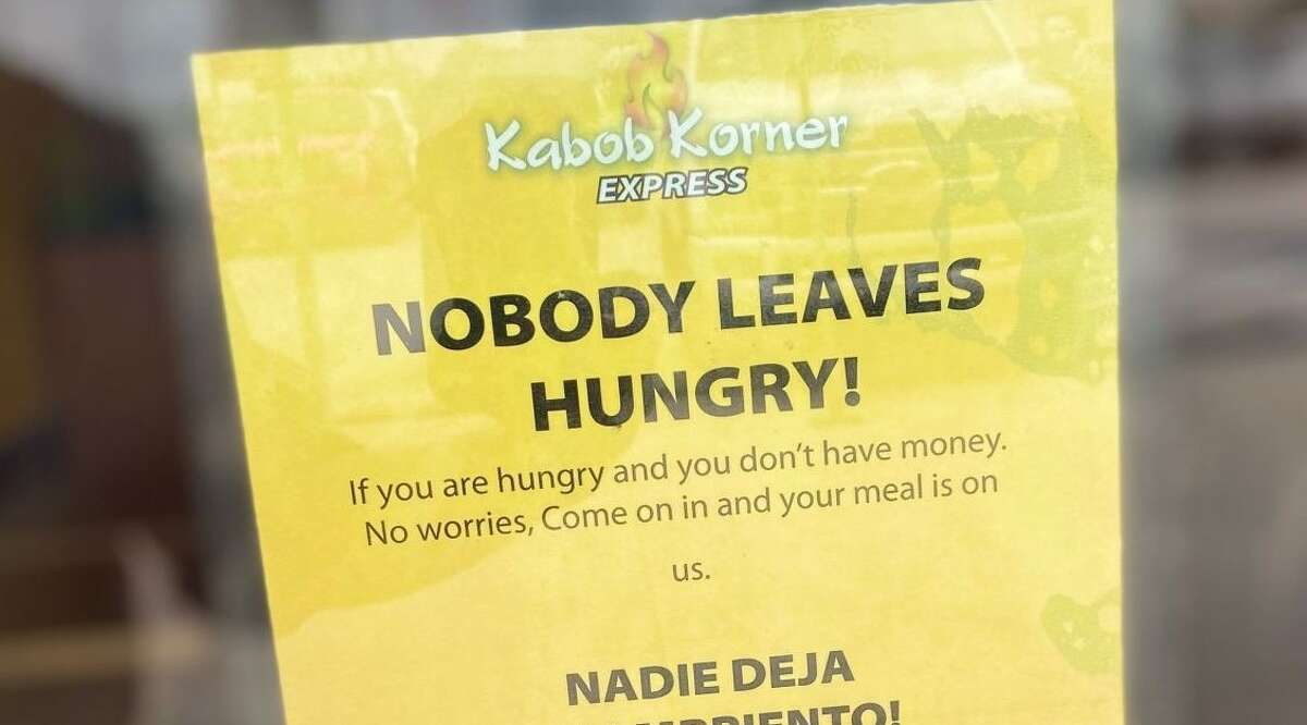 One sign changed the relationship between a Houston restaurant owner and his community