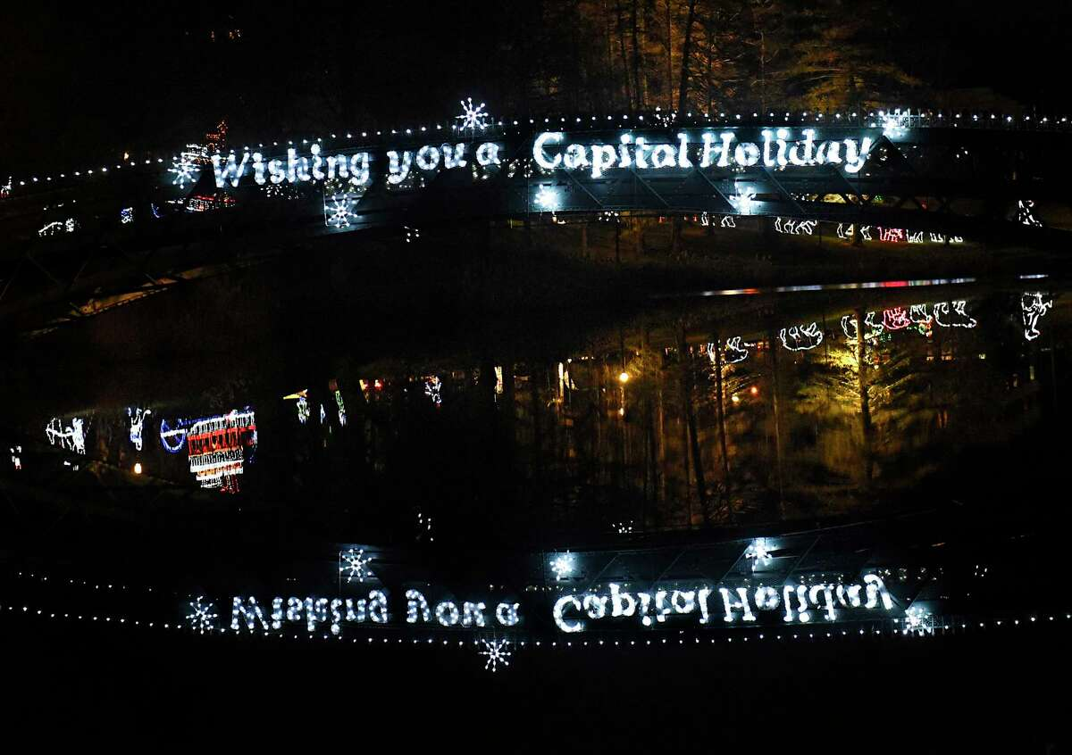 FILE. Letter writer says, 'Is the best solution for Capital Holiday Lights in the Park to be relocated somewhere other than Washington Park? The simple answer is no.' (Lori Van Buren/Times Union)