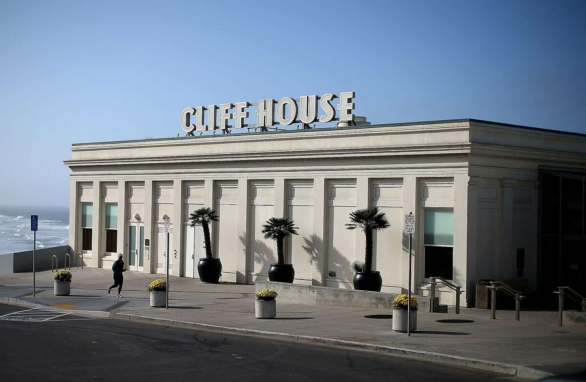 A view of the Cliff House restaurant on October 10, 2013 in San Francisco, California.