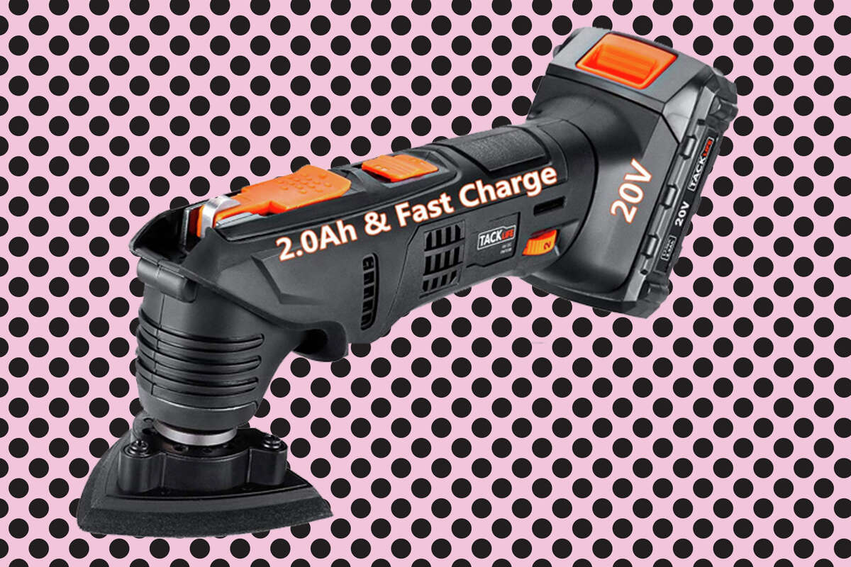 Tacklife's 20V Li-Ion Oscillating Multitool, discounted to just $59.99 after on-page digitalcoupon.