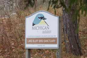 The Lake Bluff Bird Sanctuary in Manistee is situated on a major migratory flyway and is a popular bird watching location during the annual Christmas Bird Count, now in its 120th year.
