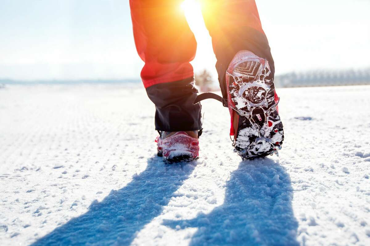 MICROspikes transform everyday hiking boots into adventure-ready winter footwear. Rentals are part of the Winter Sport Pass at Mohonk Mountain House in New Paltz, NY.