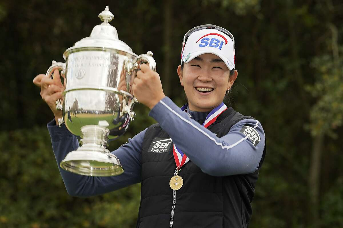 A Lim Kim won the U.S. Women's Open in her first appearance in the championship, becoming only the fifth player to achieve the feat.