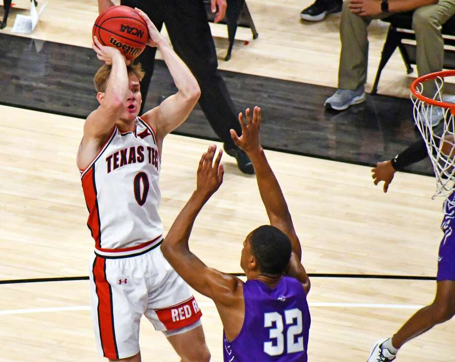 Mac McClung and the No. 14 Texas Tech men's basketball team host No. 5 Kansas in an early Big 12 showdown on Thursday. Photo: Nathan Giese/Planview Herald