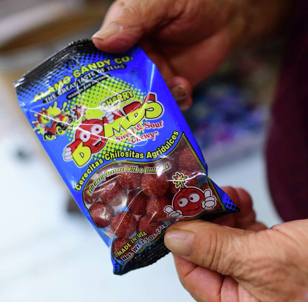 Cherry Bombs are among the more popular items made by Alamo Candy Co.
