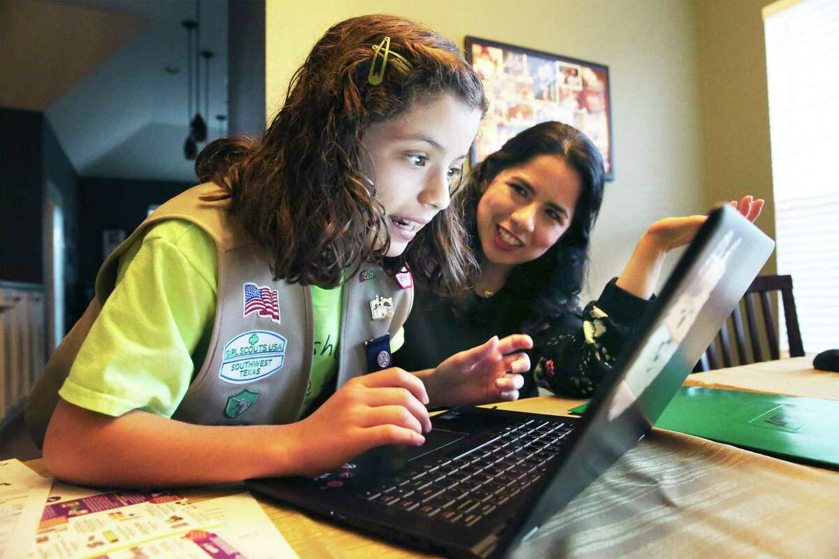 The Girl Scouts of Southwest Texas are taking their cookie sales online.