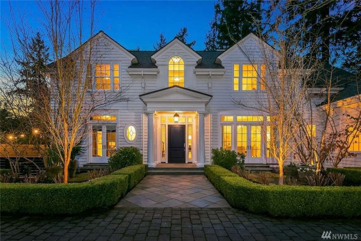 In 5th place: 1257 Evergreen Point Rd. in Medina.