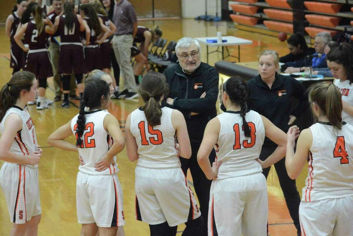 Coach Joe Cavallaro's Shelton girls basketball team returns a seasoned lineup.