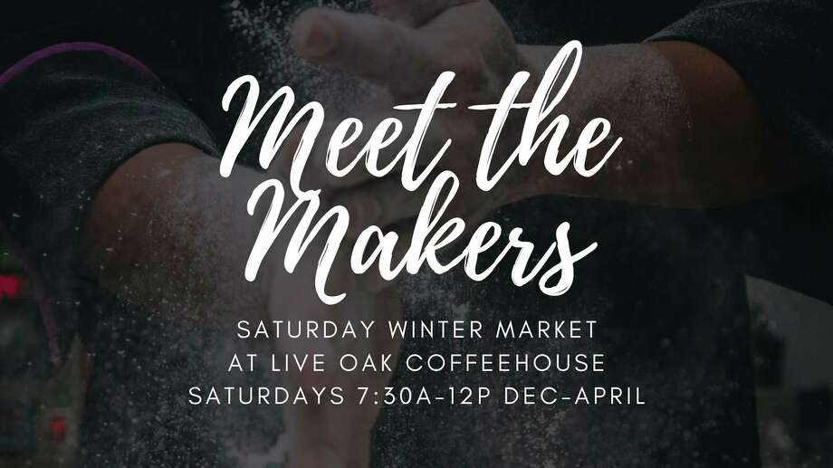 Saturday, Dec. 19: Come Meet the Makers, an event to showcase and support local makers and growers, is set for 7:30 a.m. to noon at Live Oak Coffeehouse, 711 Ashman St. Midland.(Photo/Live Oak Facebook)