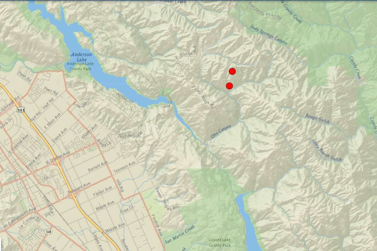 A magnitude 3.7 quake was followed by a magnitude 3.6 quake in the San Jose area Tuesday morning, according to the US Geological Society.