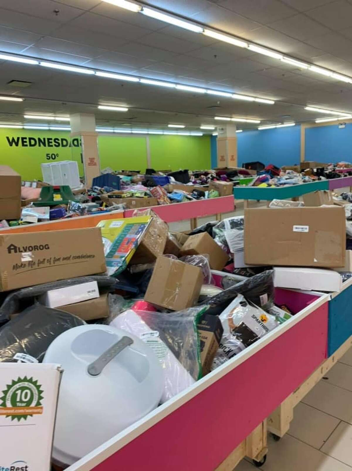 A Black Friday discount store that offers deals for $7 and under will open its San Antonio location in January. The photo is what the Houston store looks like, the business told mySA.com.