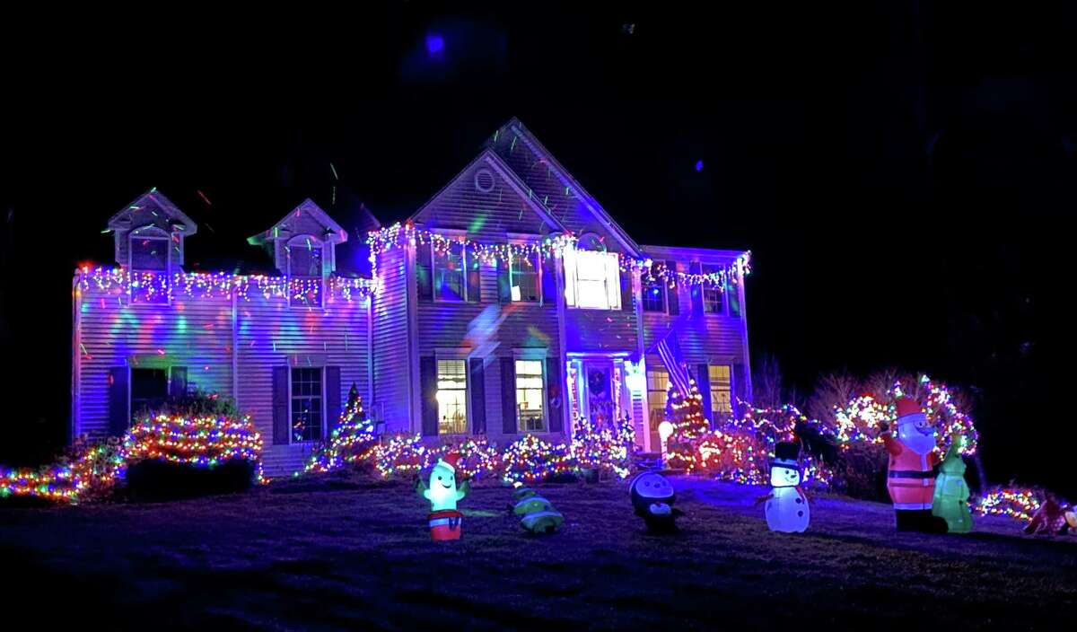 Neighbors celebrated the holiday season with a festive light competition.
