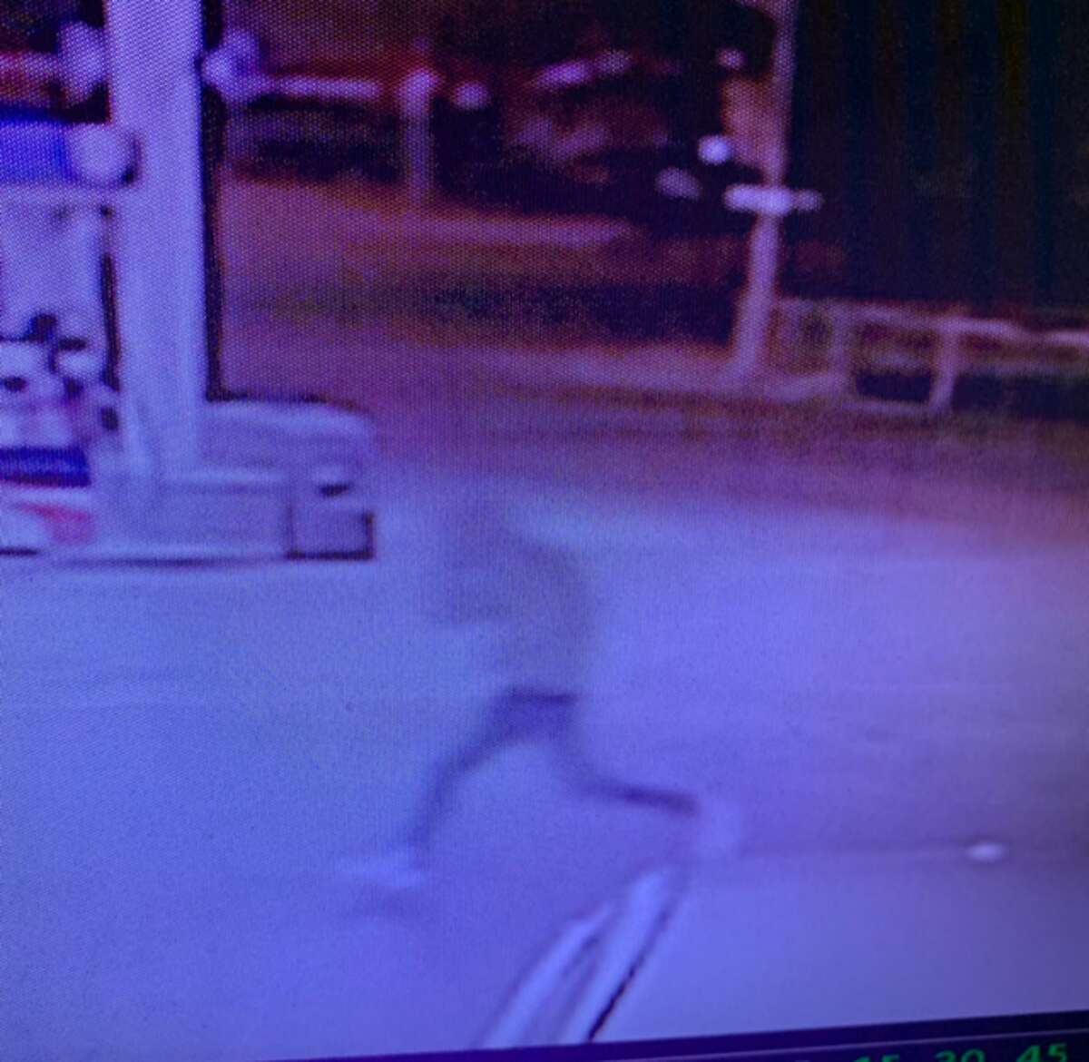 The Midland Police Department has released photos of a suspect captured on surveillance footage.
