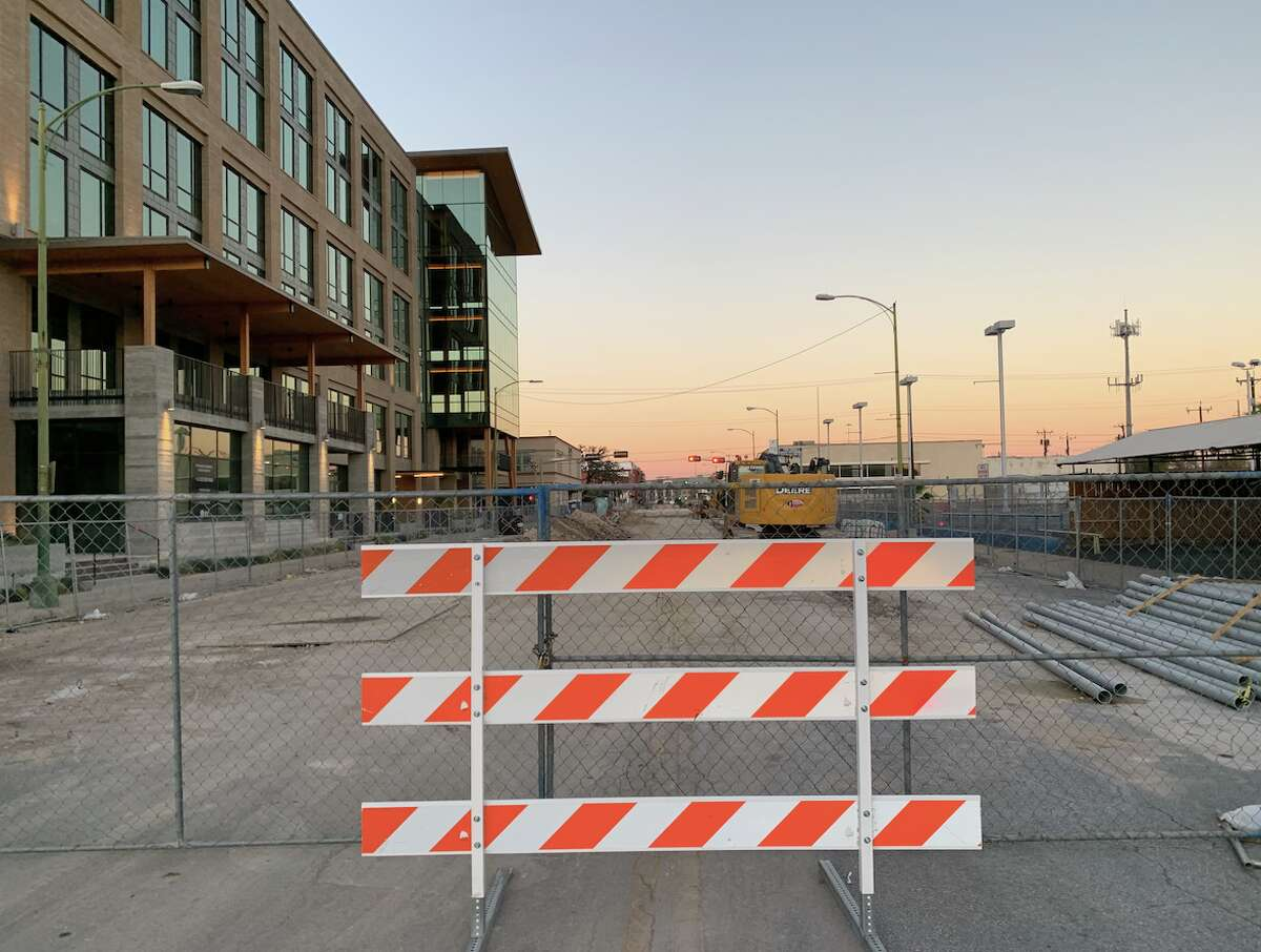 Broadway is currently closed from Brooklyn to 9th St. as part of a $45 million overhaul of the street.