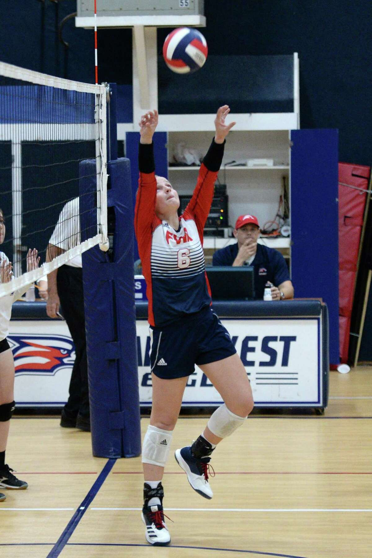 Haley Muse of Faith West, shown last season, was named first-team all-state in TAPPS Class 4A.