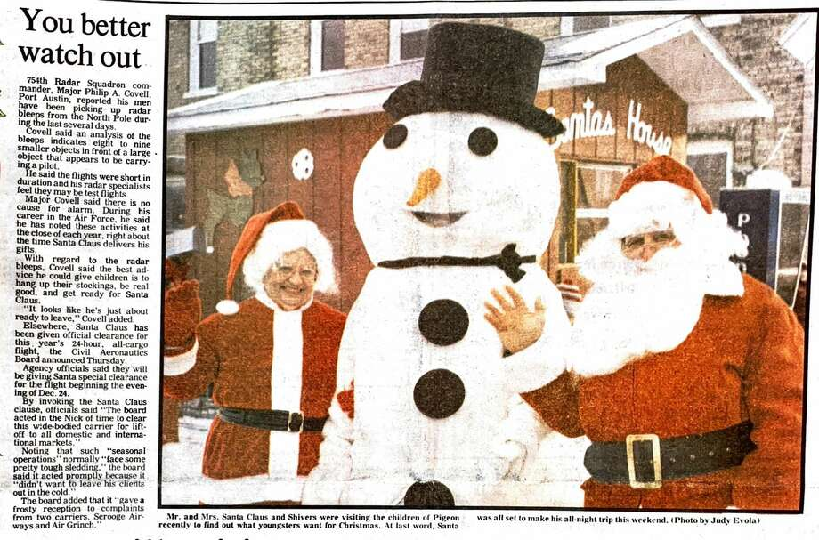 For this week's Tribune Throwback we look back to December 1983. Photo: Tribune File Photo